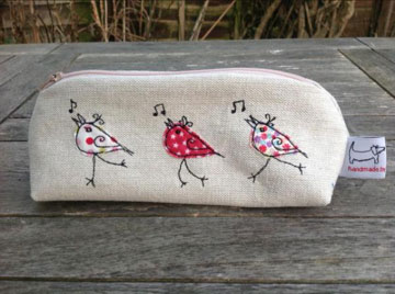 Dancing Birds Pencil Case